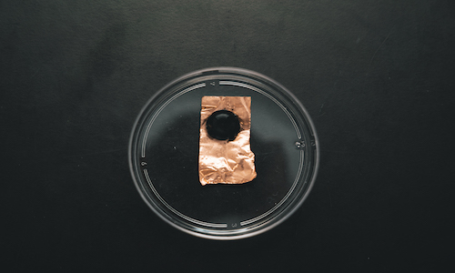 A low-cost, button sized fireproof sensor.